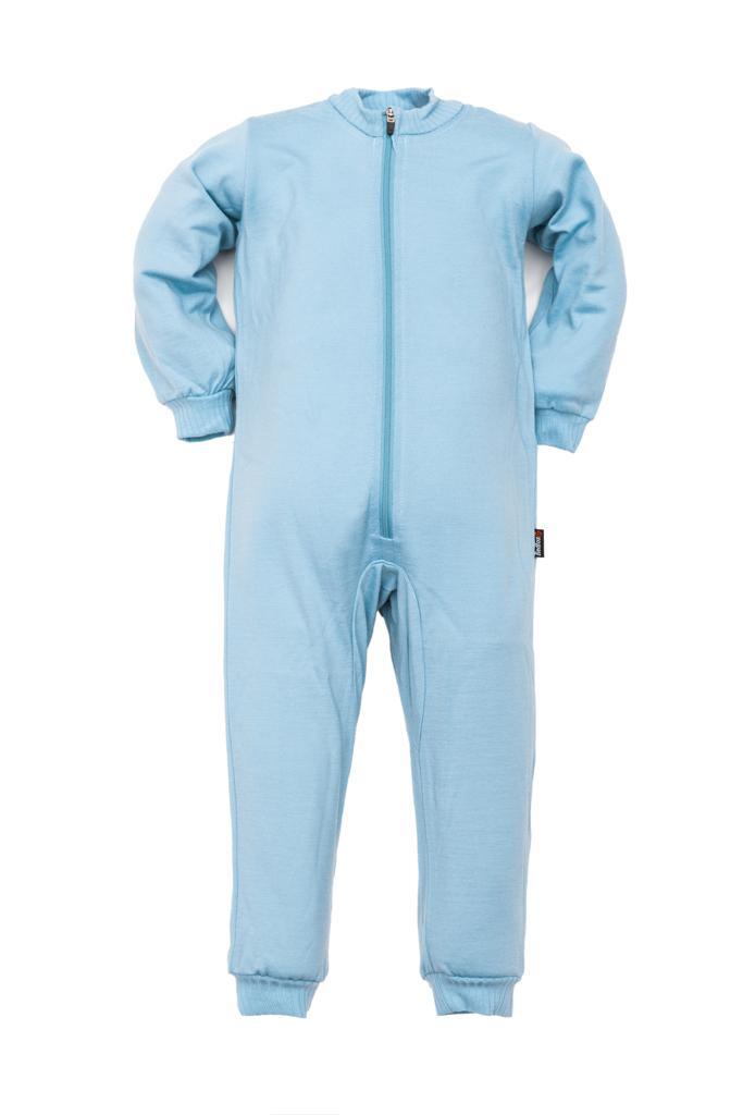 Термобелье комбинезон Little Wool ДетскийКомплекты<br><br> Мягкий шерстяной комбинезончик подарит вашему малышу тепло и комфорт. Свободный крой комбинезона не стеснит движений. Комбинезон подх...<br><br>Цвет: Голубой<br>Размер: 92