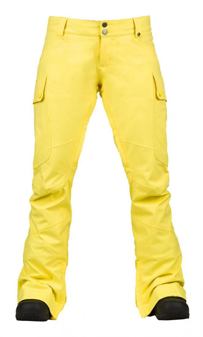 Брюки жен. г/л WB GLORIA PTБрюки, штаны<br><br> Технологичные и удобные женские горнолыжные брюки Burton Gloria Pants подойдут для любого сезона. При температуре до -15 их можно использовать без дополнительной защиты, а в морозы достаточно дополнить экипировку качественным термобельем.<br><br>&lt;p...<br><br>Цвет: Желтый<br>Размер: XS