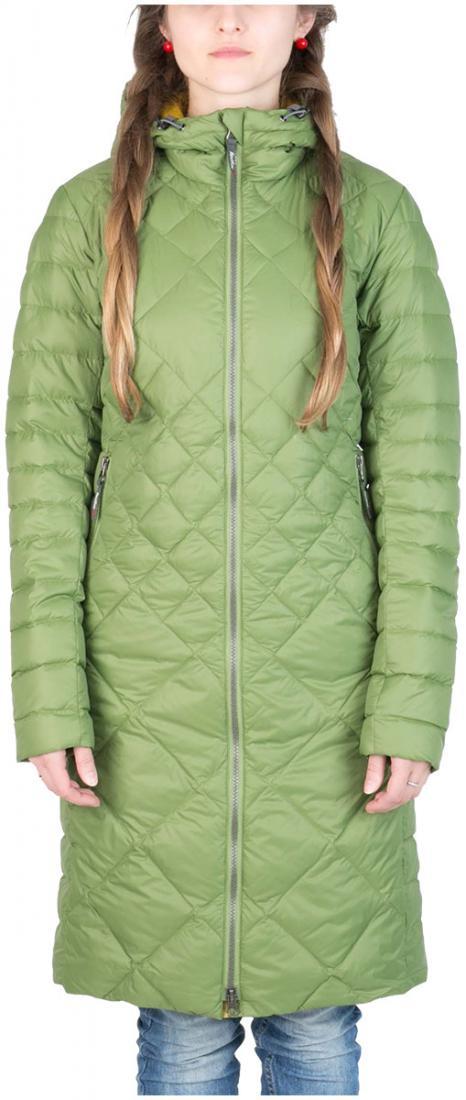 Пальто пуховое Nicole ЖенскоеПальто<br><br> Легкое пуховое пальто с элементами спортивного дизайна. соотношение малого веса и высоких тепловыхсвойств позволяет двигаться актив...<br><br>Цвет: Хаки<br>Размер: 52