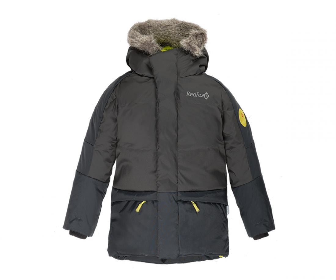 Куртка пуховая Extract II ДетскаяКуртки<br>В экстремально теплом пуховике ваш ребенок гарантированно будет чувствовать себя комфортно в самую морозную погоду. Дополнительный слой функционального утеплителя Omniterm® создает высокие теплоизолирующие свойства. Удобная регулировка по талии и низу кур...<br><br>Цвет: Темно-серый<br>Размер: 128
