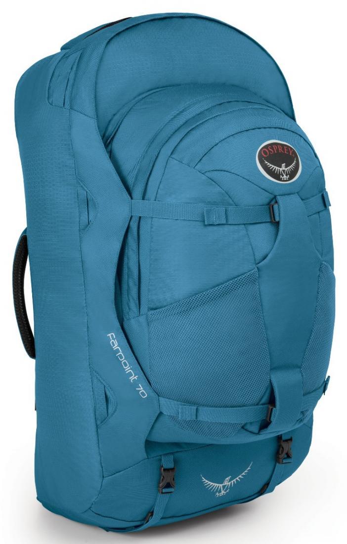 Сумка Farpoint 70Рюкзаки<br>Серия Farpoint   самые легкие рюкзаки для путешествий. Благодаря съемной подвеске на молнии, с сеткой для вентиляции, Farpoint можно использовать ...<br><br>Цвет: Черный<br>Размер: 68 л