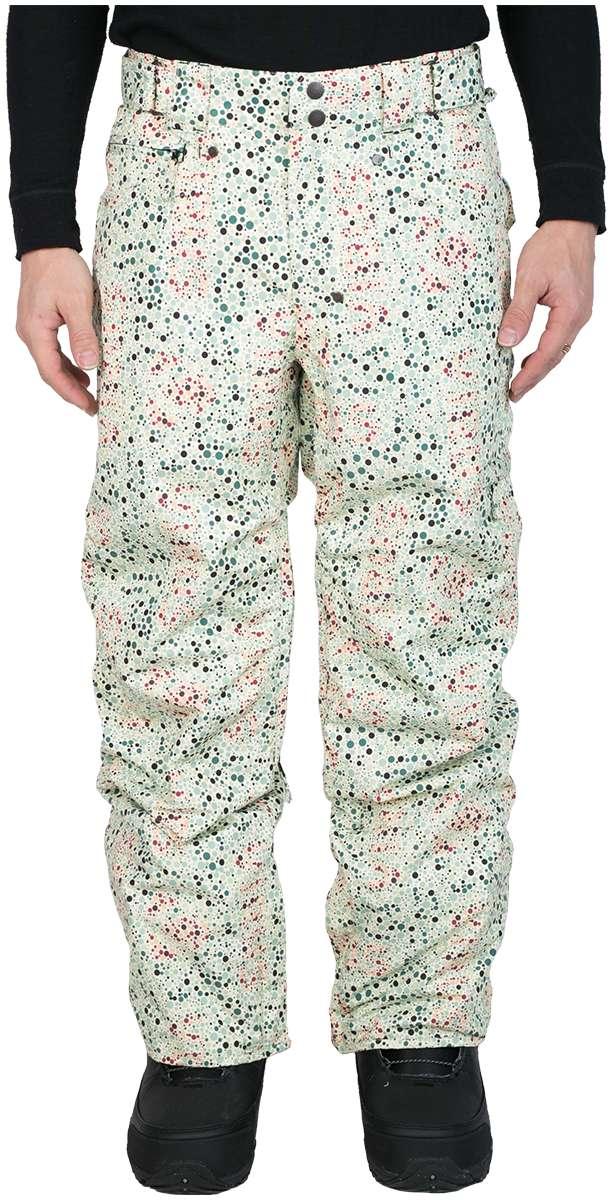Штаны сноубордические MobsterБрюки, штаны<br><br> Сноубордические штаны свободного кроя Mobster сконструированы специально для катания вне трасс. Этому также способствуют карманы, препят...<br><br>Цвет: Бежевый<br>Размер: 48