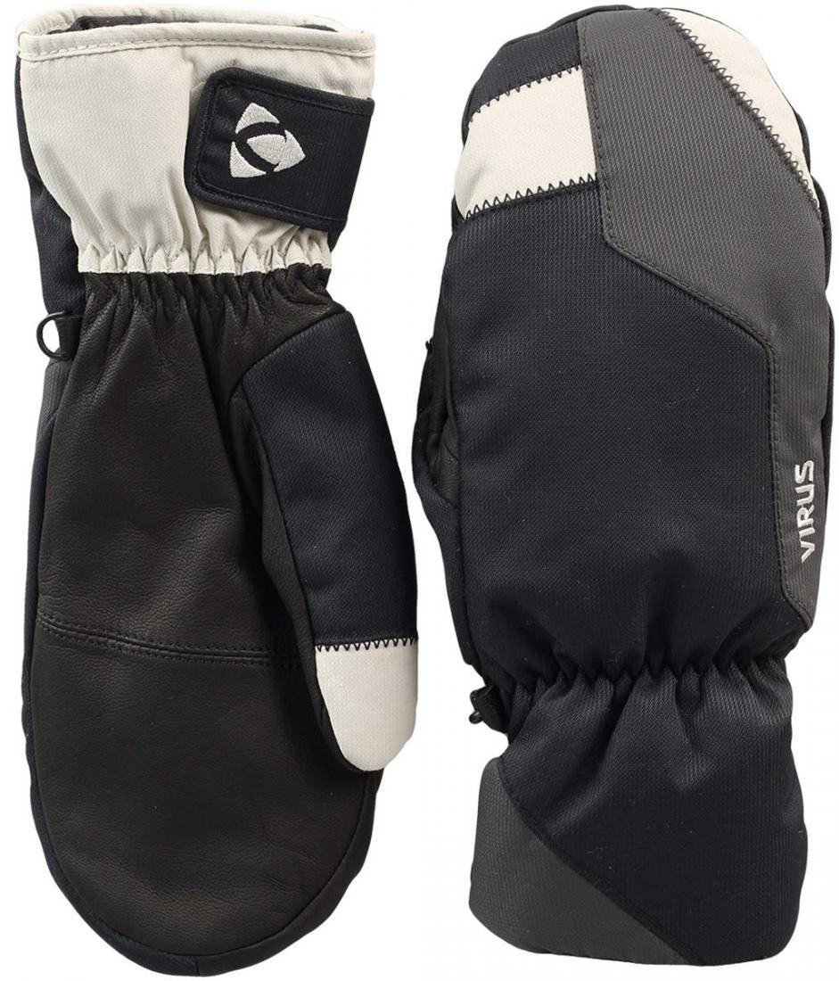 Рукавицы Basic мужскиеВарежки<br><br><br>Цвет: Черный<br>Размер: S
