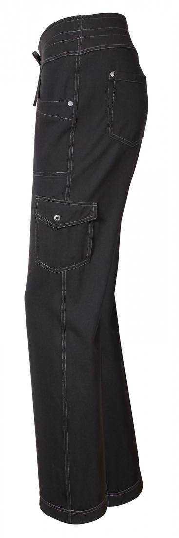 Брюки MovaБрюки, штаны<br>Повседневные женские брюки из мягкой эластичной ткани. Широкий пояс обеспечивает идеальную посадку.<br><br> <br><br><br>Состав: 88% нейлон, 12% спандекс<br><br><br>Назначение: город, путешествия<br><br><br><br>Цвет: Черный<br>Размер: 2-32