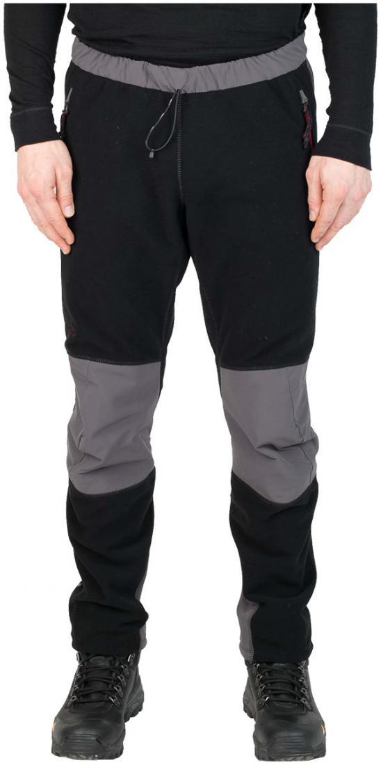 Брюки TaigaБрюки, штаны<br><br> Брюки из коротковорсового ветрозащитного материала для использования в качестве среднего утепляющего слоя или максимально дышащего наружного, во время интенсивных движений в экстремально холодных условиях.<br><br><br> <br><br><br><br><br>...<br><br>Цвет: Черный<br>Размер: 54