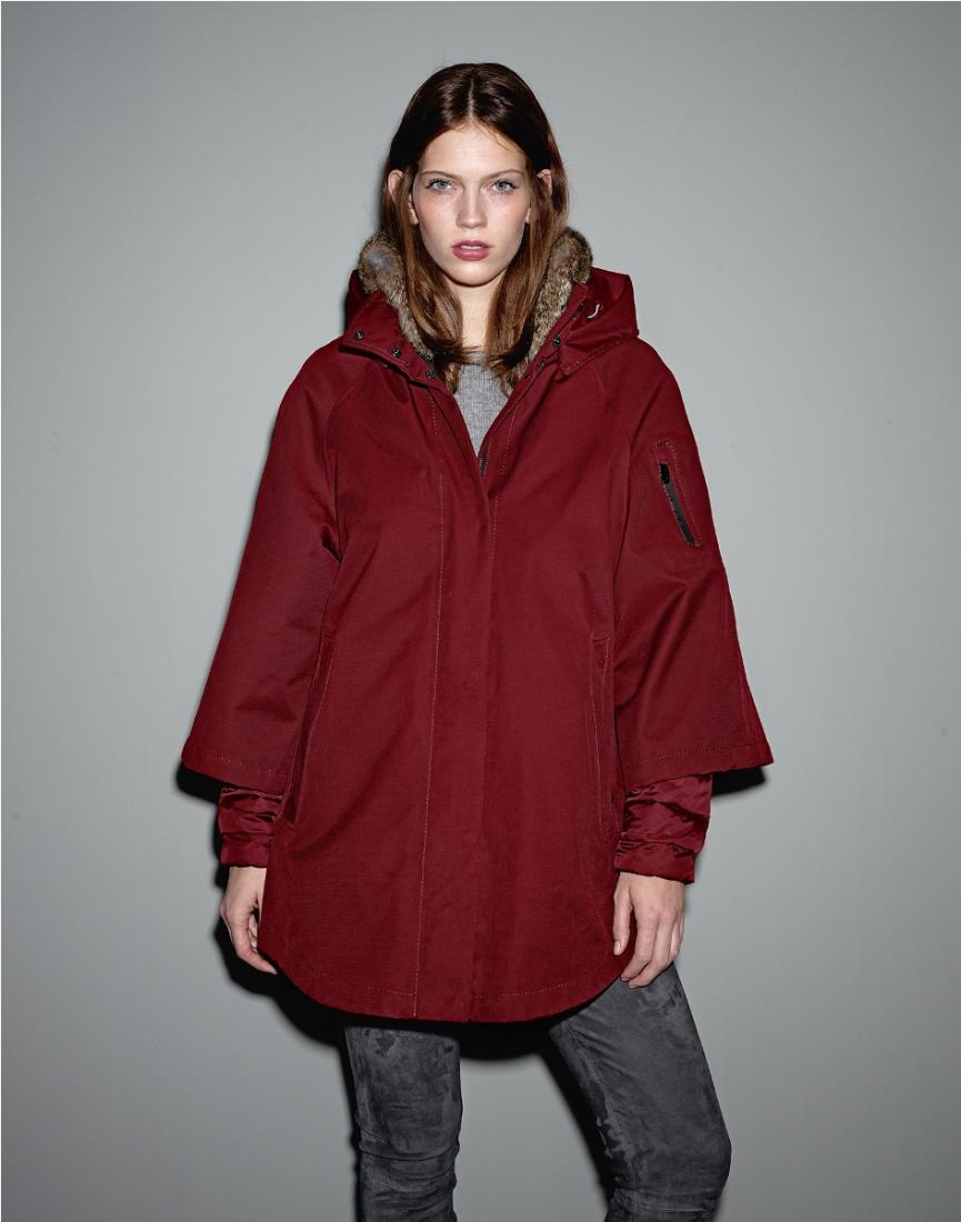 фото Куртка утепленная с мехом жен.Nuage