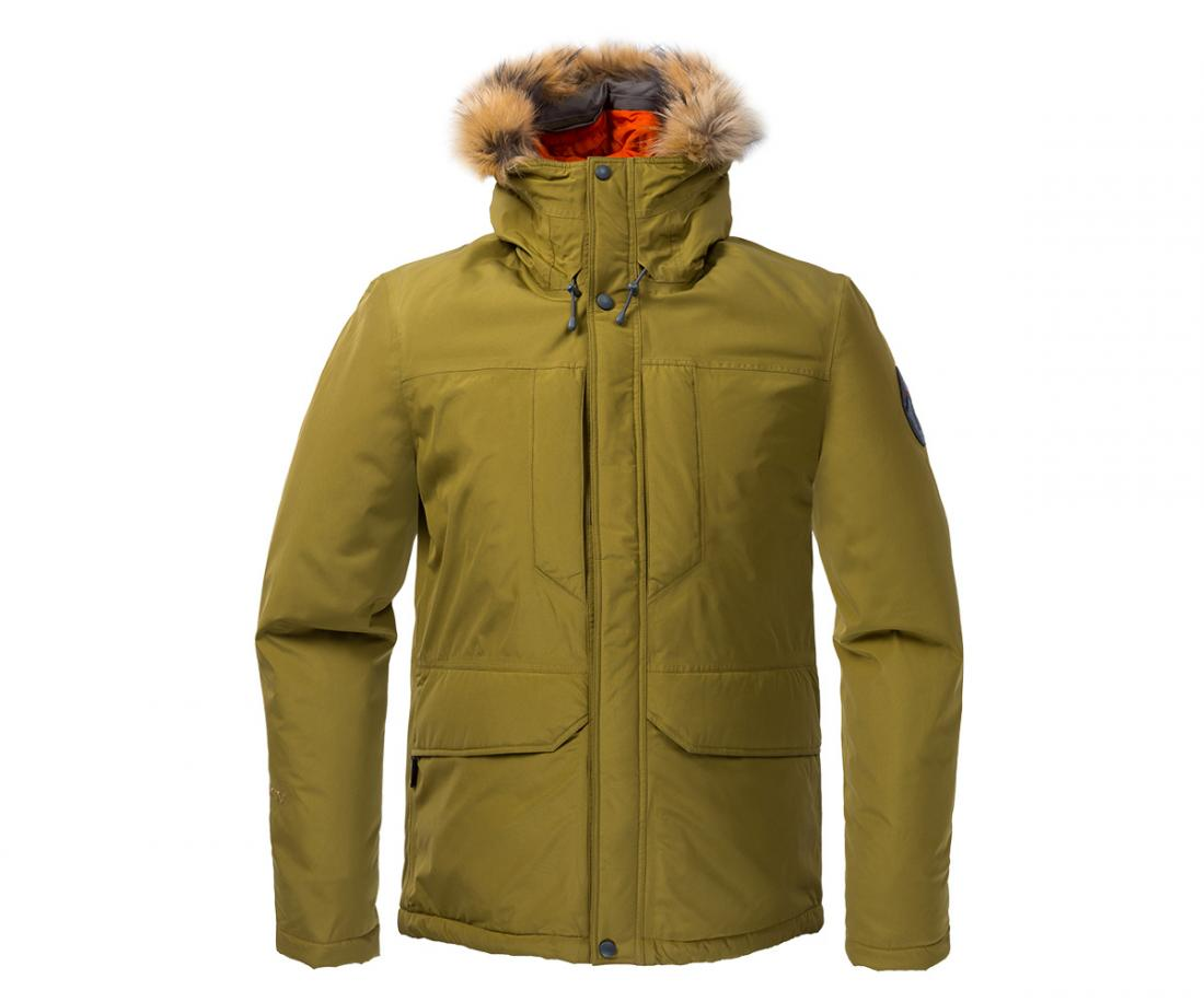 Куртка утепленная Yukon GTX МужскаяКуртки<br><br> Городская парка высокотехнологичного дизайна. Сочетание утеплителя Thinsulate® c непродуваемым материалом GORE-TEX® гарантирует исключительн...<br><br>Цвет: Хаки<br>Размер: 48