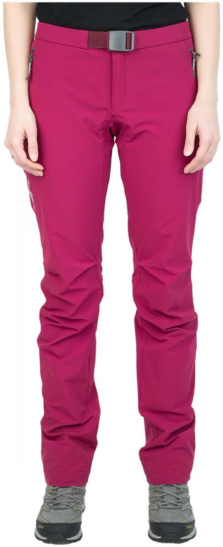 Брюки Shelter Shell ЖенскиеБрюки, штаны<br><br> Универсальные брюки из прочного, тянущегося в четырех направлениях материала класса Softshell, обеспечивает высокие показатели воздухопроницаемости во время активных занятий спортом.<br><br><br>основное назначение: альпинизм<br>ласто...<br><br>Цвет: Малиновый<br>Размер: 42