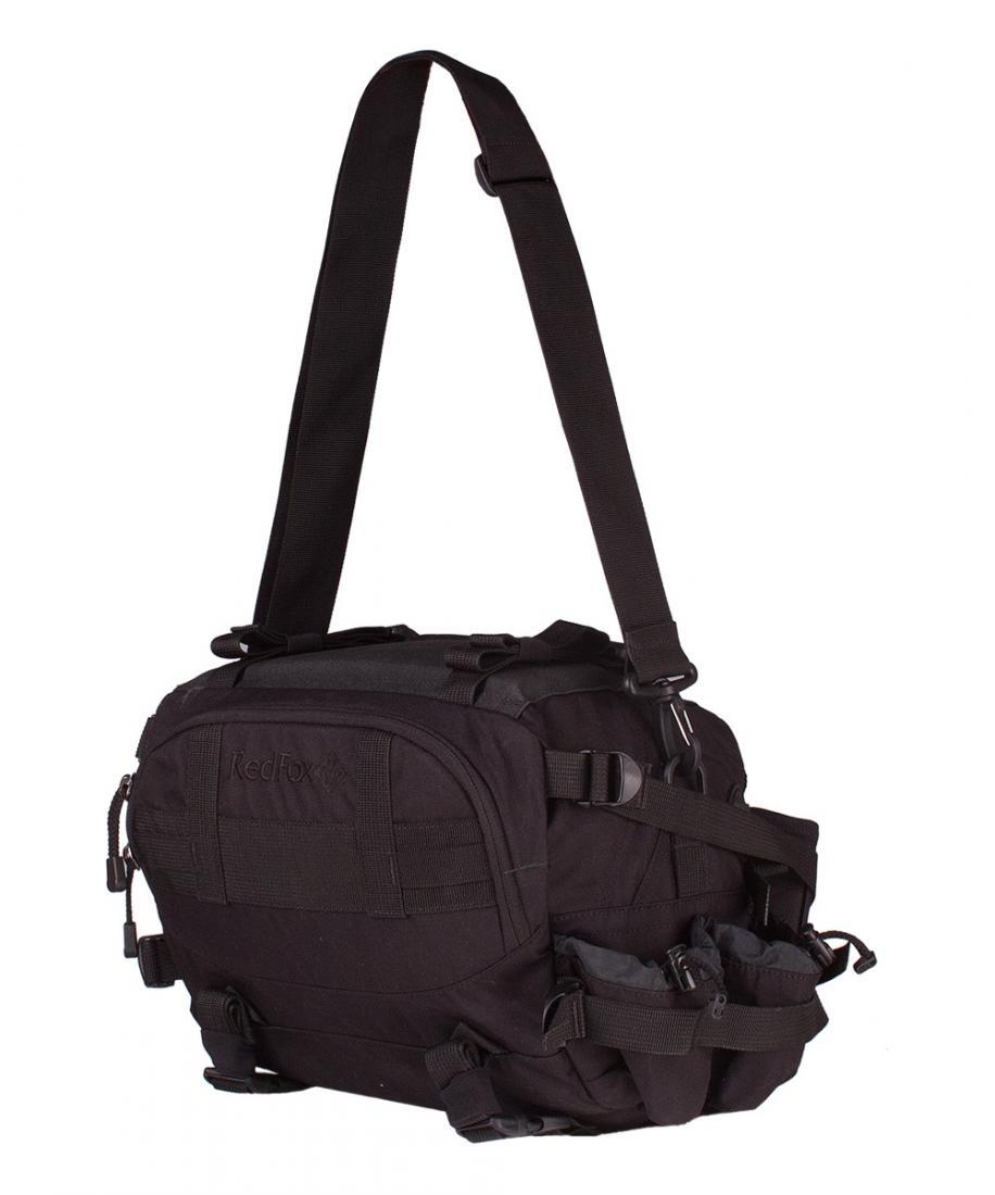 Сумка Sniper bagСумки<br><br> Сумка Sniper Bag – многоцелевая сумка для ношения на поясе или спине. Разработана для сотрудников специальных подразделений.<br><br><br>Назнач...<br><br>Цвет: Черный<br>Размер: None