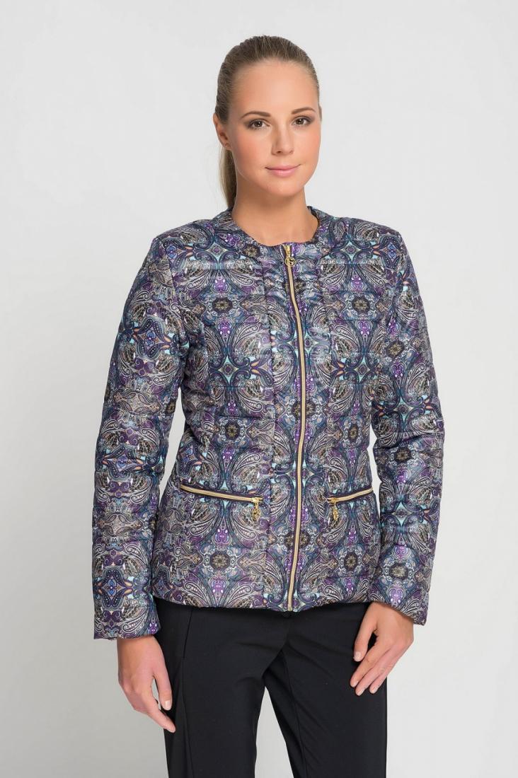Куртка городская 426214 жен.Куртки<br><br><br>Цвет: Темно-серый<br>Размер: 50
