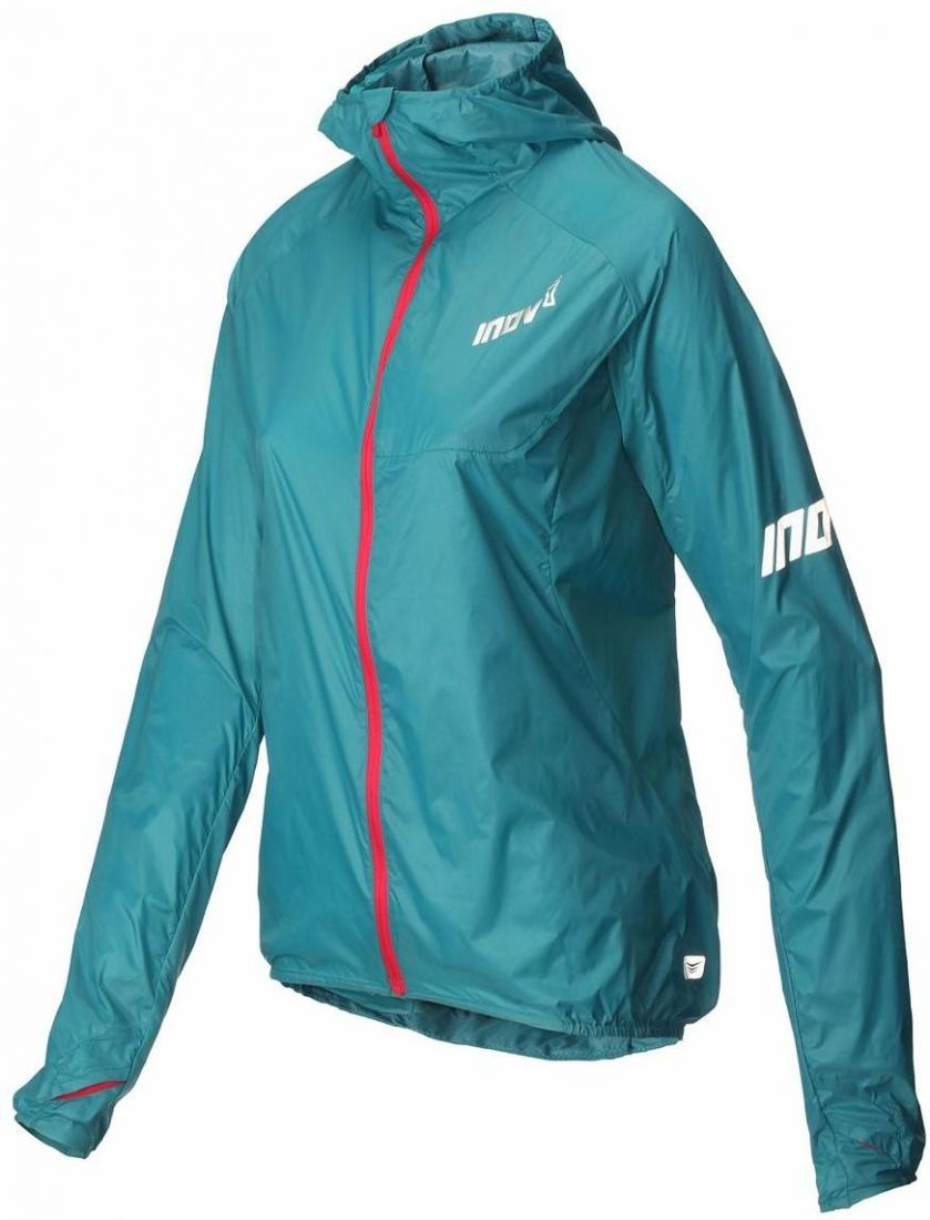 Inov-8 Куртка AT/C Windshell FZ W (8, Teal/Pink, , ,) inov 8 футболка at c tri blend ss strip w 6 black pink