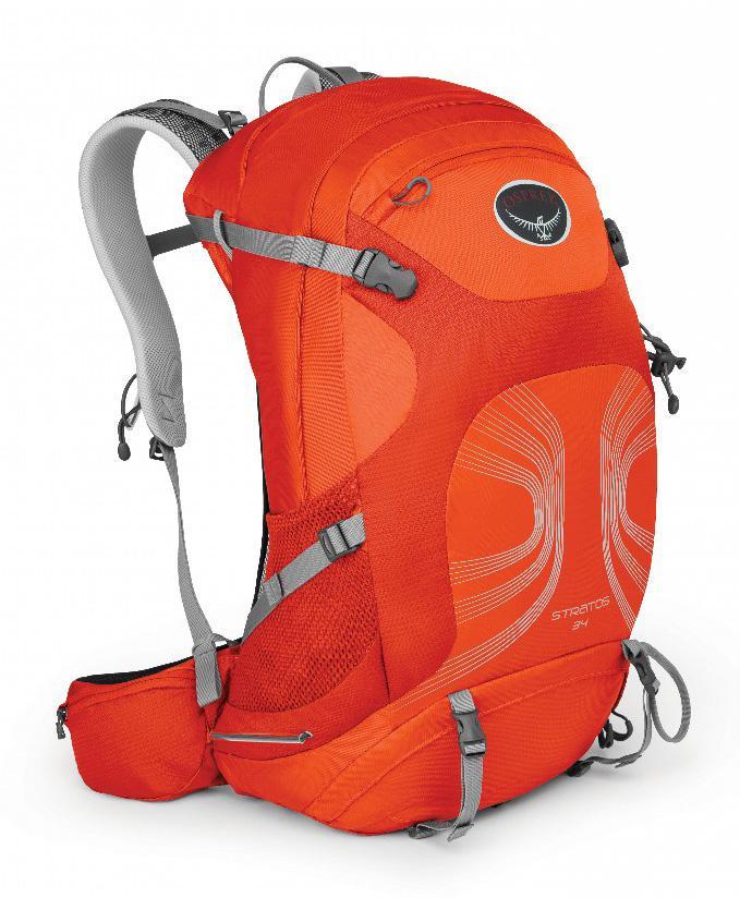 Рюкзак Stratos 34Рюкзаки<br><br><br>Цвет: Оранжевый<br>Размер: 34 л
