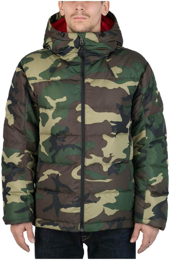 Куртка пуховая Nansen МужскаяКуртки<br><br> Пуховая куртка из прочного материала мягкой фактурыс «Peach» эффектом. стильный стеганый дизайн и функциональность деталей позволяют и...<br><br>Цвет: Хаки<br>Размер: 56