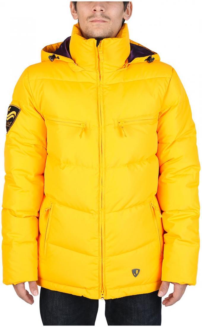 Куртка пуховая PythonКуртки<br><br> Отличительная черта этой куртки – минимализм. Ничего лишнего и нефункционального в ней нет. Но есть комфортная посадка Mid-fit, широкий во...<br><br>Цвет: Желтый<br>Размер: 48