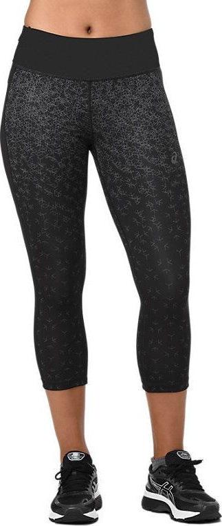 Брюки CAPRI TIGHT PRINTБрюки, штаны<br><br>Женские брюки Asics Capri Tight Print - идеальный вариант для пробежки и других спортивных упражнений. Они плотно садятся по фигуре и обеспечивают максимальную поддержку благодаря эластичному поясу, боковые сетчатые вставки гарантируют хорошую возду...