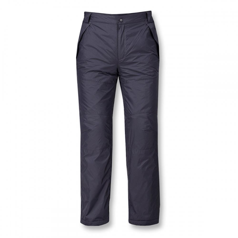 Брюки утепленные Husky МужскиеБрюки, штаны<br><br> Утепленные брюки свободного кроя. высокая прочность наружной ткани, функциональность утеплителя и эргономичный силуэт позволяют ощут...<br><br>Цвет: Черный<br>Размер: 46