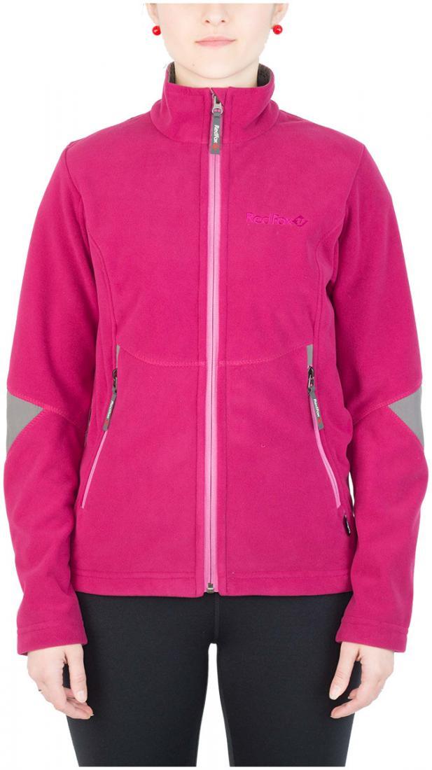 Куртка Defender III ЖенскаяКуртки<br><br> Стильная и надежна куртка для защиты от холода и ветра при занятиях спортом, активном отдыхе и любых видах путешествий. Обеспечивает свободу движений, тепло и комфорт, может использоваться в качестве наружного слоя в холодную и ветреную погоду.<br>&lt;/...<br><br>Цвет: Малиновый<br>Размер: 48