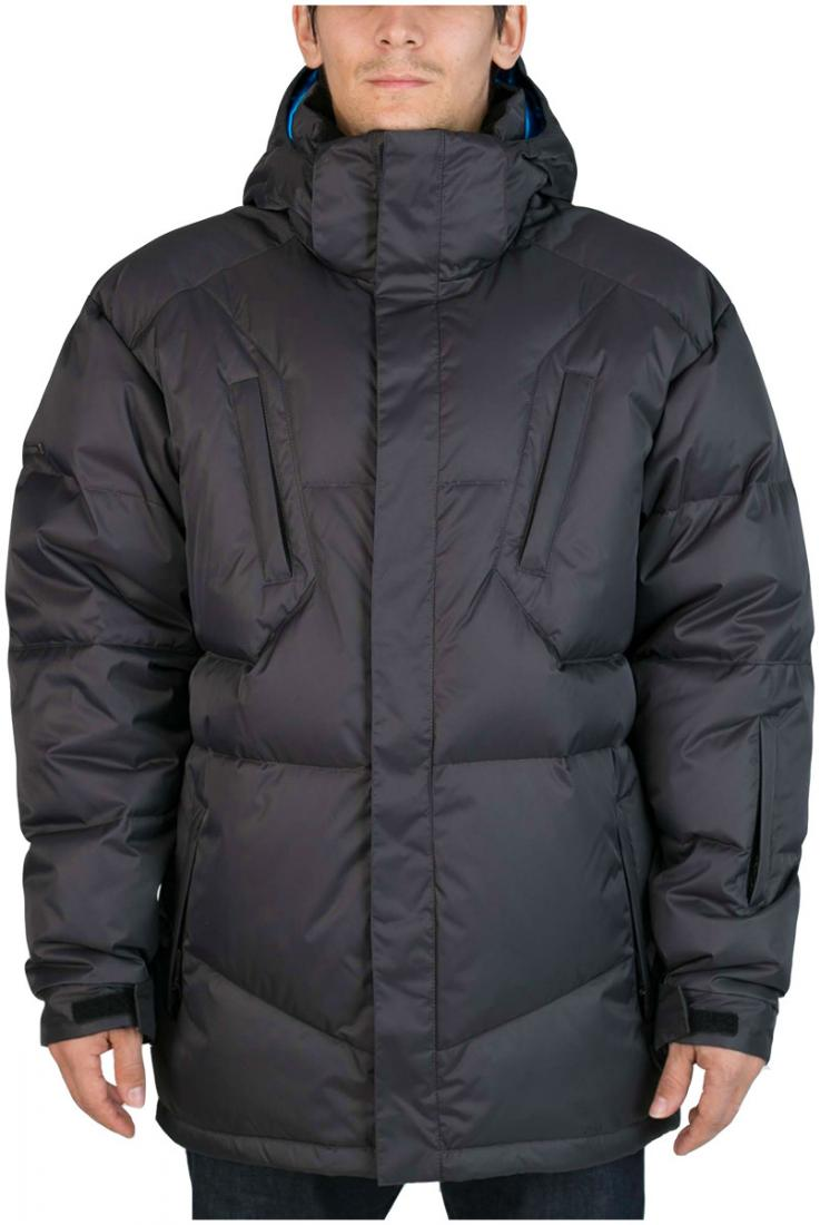 Куртка пуховая Booster IIКуртки<br><br><br>Цвет: Черный<br>Размер: 56