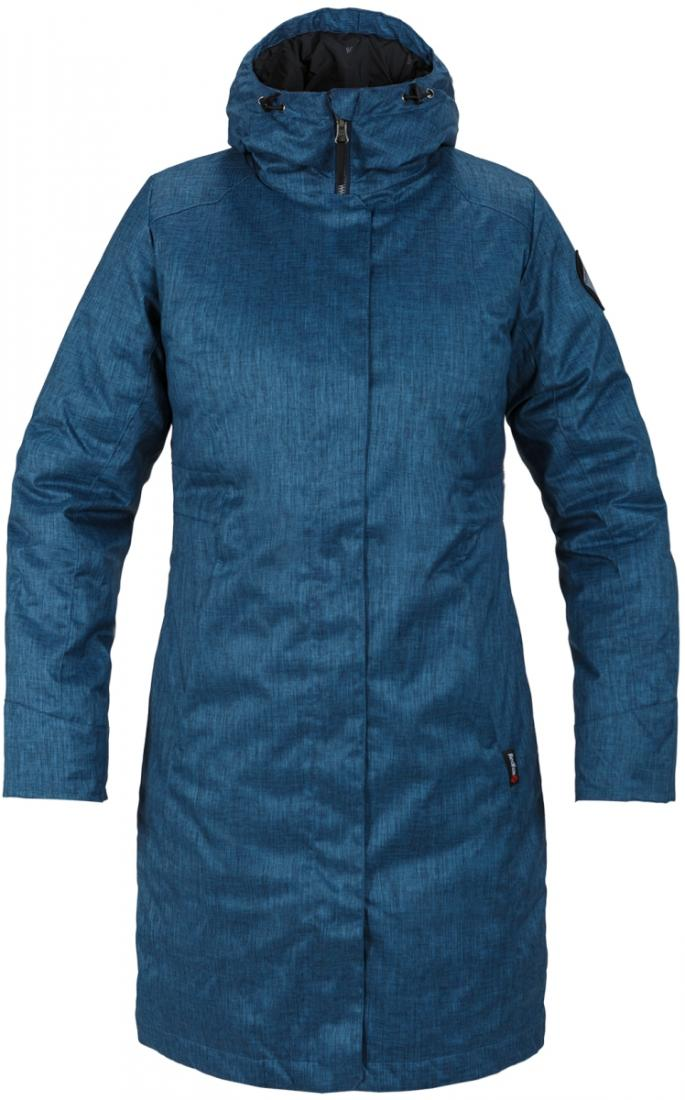 Пальто пуховое Urban Fox II ЖенскоеПальто<br><br><br>Цвет: Синий<br>Размер: XS