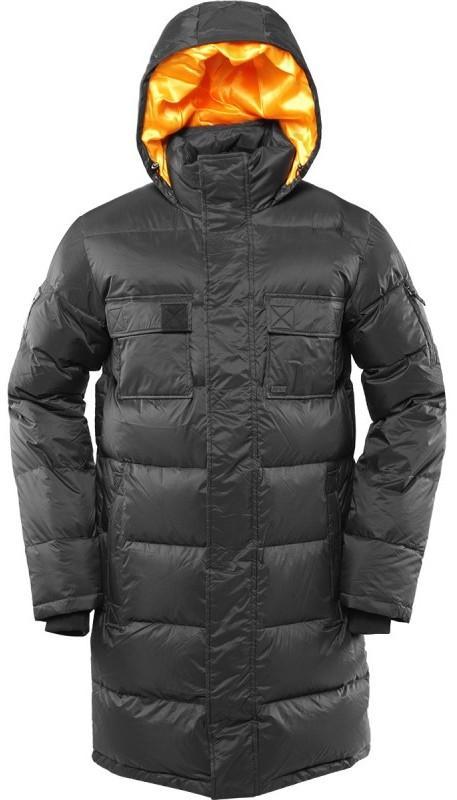 Куртка пуховая EnvelopeКуртки<br><br> Самый длинный мужской пуховик в коллекции ViRUS. Классическая прострочка, два накладных кармана на груди и масса комфорта. Все это о пухов...<br><br>Цвет: Черный<br>Размер: 54