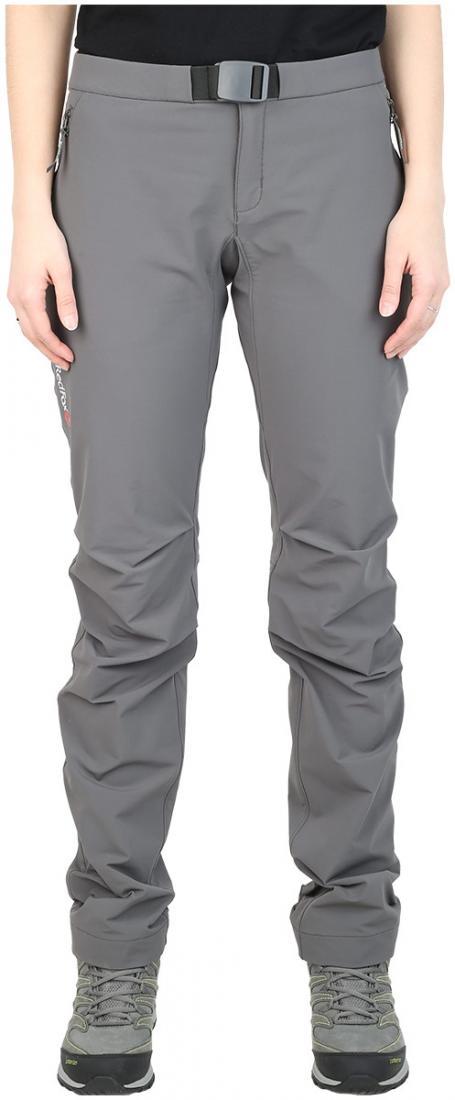 Брюки Shelter Shell ЖенскиеБрюки, штаны<br><br> Универсальные брюки из прочного, тянущегося в четырех направлениях материала класса Soft shell, обеспечивает высокие показатели воздухопр...<br><br>Цвет: Серый<br>Размер: 48