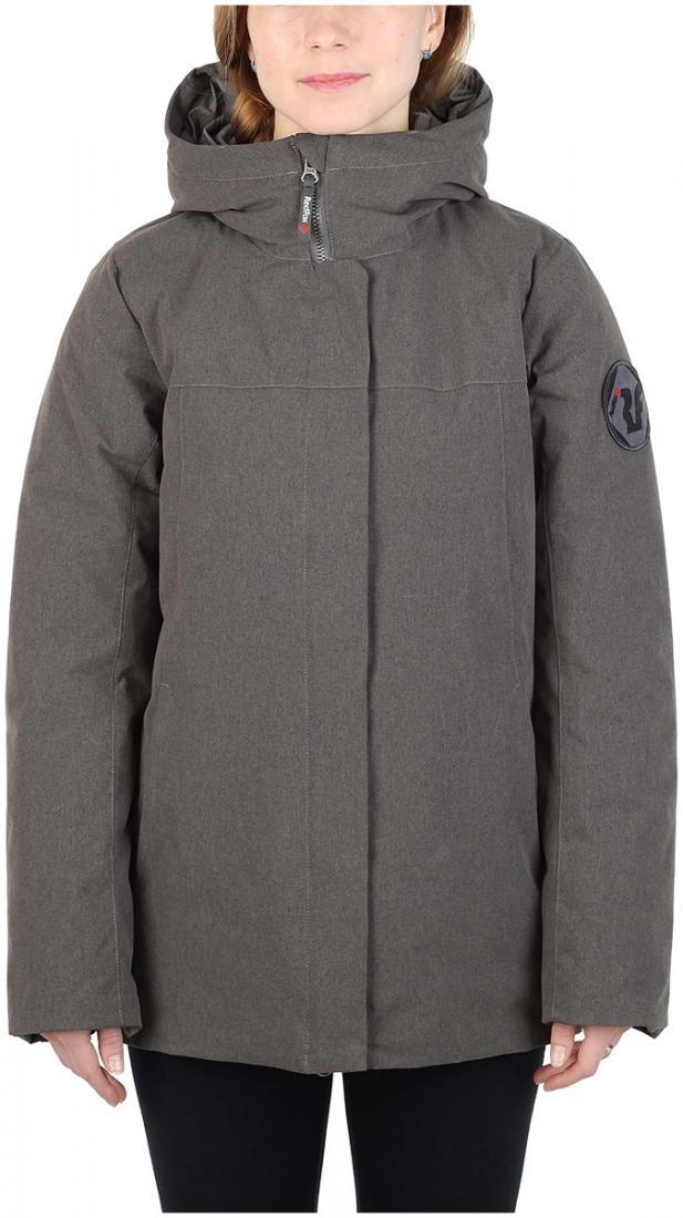 Полупальто пуховое Urban Fox ЖенскоеПальто<br><br> Пуховая куртка минималистичного дизайна из прочного материала c «m?lange» эффектом, обладает всеми необходимыми качествами, чтобы полнос...<br><br>Цвет: Темно-серый<br>Размер: 48