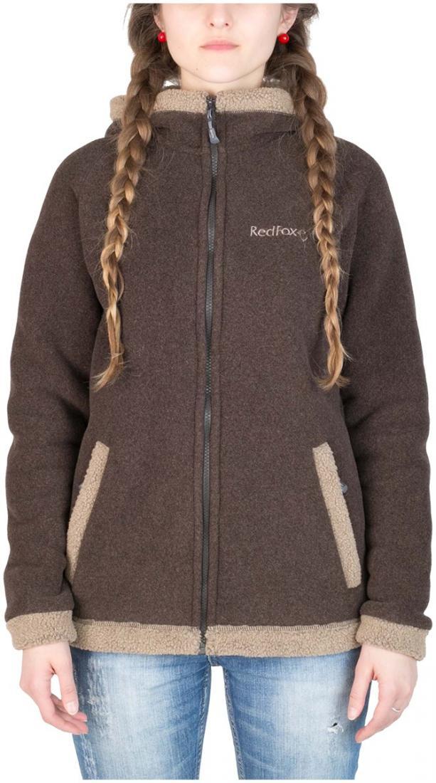 Куртка Cliff III ЖенскаяКуртки<br>Модель курток Cliff  признана одной из самых популярных в коллекции Red Fox среди изделий из материалов Polartec®: универсальна в применении, обладает стильным дизайном, очень теплая. <br><br>основное назначение: Загородный отдых<br>женс...<br><br>Цвет: Коричневый<br>Размер: 46