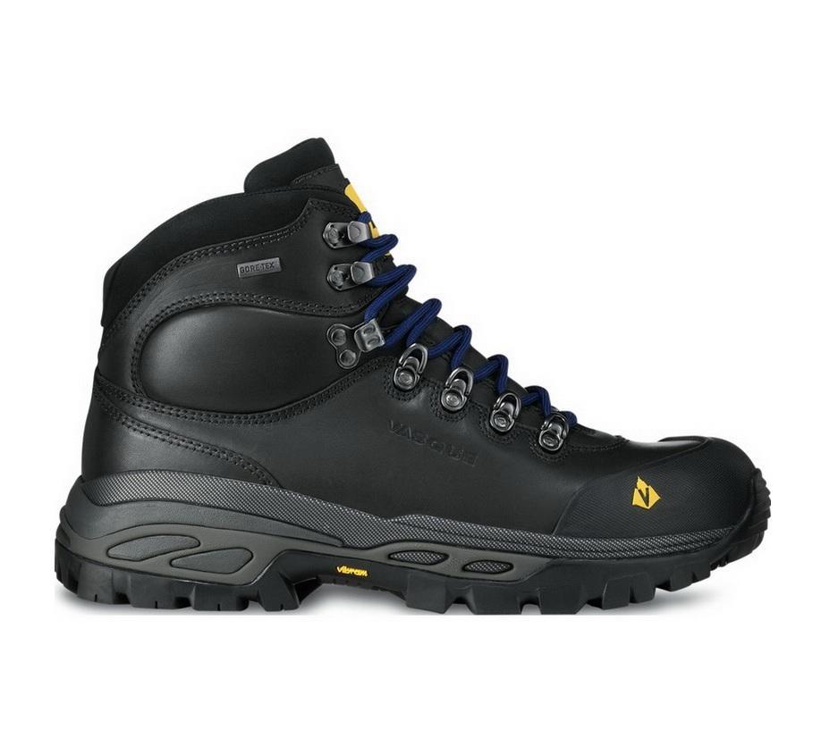 Ботинки 7176 Bitterroot GTX мужcкиеТреккинговые<br><br><br>Цвет: Черный<br>Размер: 14
