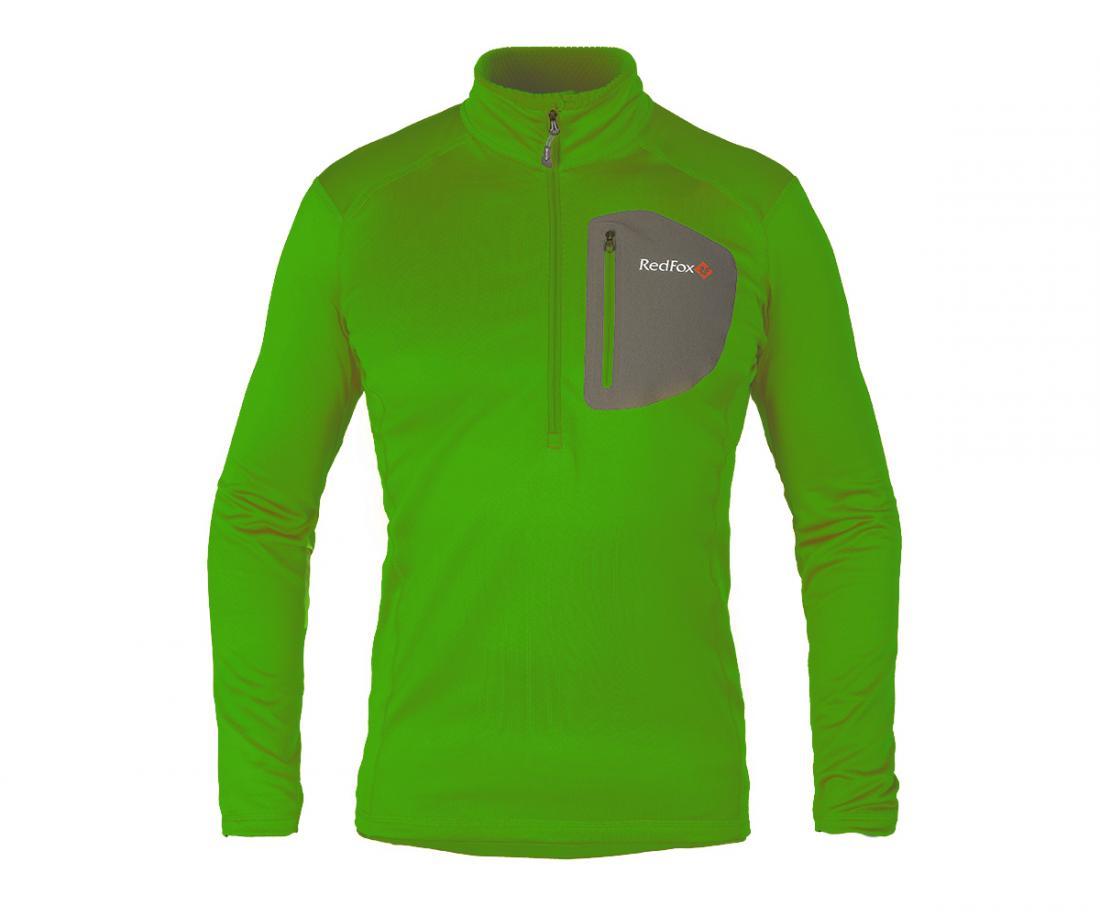 Пуловер Z-Dry МужскойПуловеры<br>Спортивный пуловер, выполненный из эластичного материала с высокими влагоотводящими характеристиками. Идеален в качестве зимнего термобелья или среднего утепляющего слоя.<br> <br><br>Материал: 94% Polyester, 6% Spandex, 290g/sqm.<br> <br>...<br><br>Цвет: Зеленый<br>Размер: 48