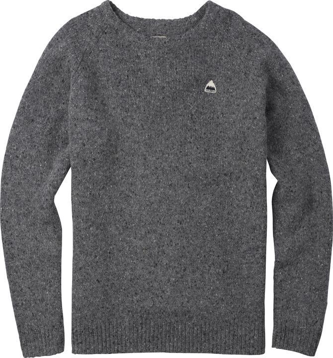 Джемпер MB GUS SWTRСвитеры<br>Джемпер MB GUS SWTR – одна из самых теплых моделей в линейке американского бренда Burton. Благодаря повышенному содержанию шерсти, свитер может служить превосходной утепляющей прослойкой между спортивной курткой и нательным бельем.<br><br><br><br>...<br><br>Цвет: Темно-серый<br>Размер: S