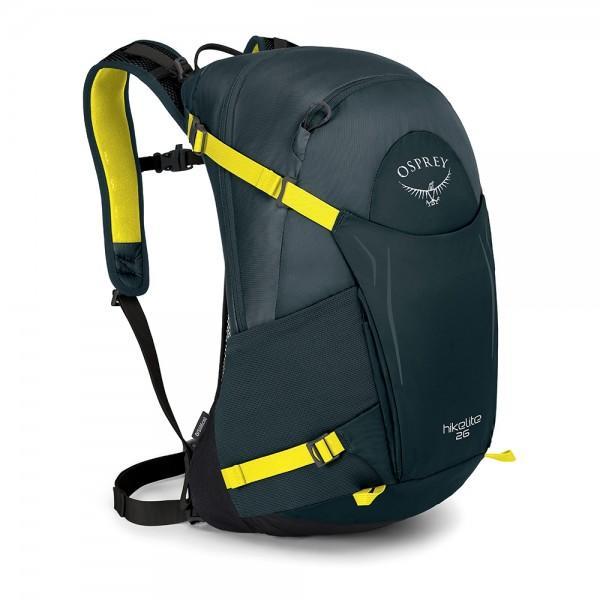 Рюкзак HIkelite 26Рюкзаки<br><br>Рюкзак Osprey HIkelite 26 сочетает в себе стильный дизайн и функциональность. Благодаря легкому каркасу рюкзак имеет небольшой вес. Оснащен множеством карманов, куда с легкостью поместится все самое необходимое в походе. В комплекте съемная накидка ...