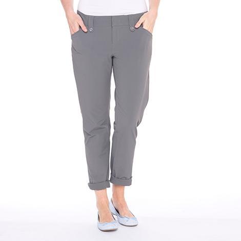 Брюки LSW1304 ROMINA PANTSБрюки, штаны<br><br> Элегантные женские брюки Lole Romina Pants имеют длину 7/8. Модель LSW1304 отлично подходит для прогулок в жаркую погоду. Легкие и удобные, они не стесняют движения, быстро испаряют влагу и защищают вредного воздействия солнечных лучей.<br><br>...<br><br>Цвет: Серый<br>Размер: 6