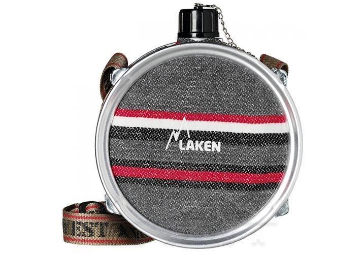 401 Фляга Farwest круг с ремнем screw cap от Laken