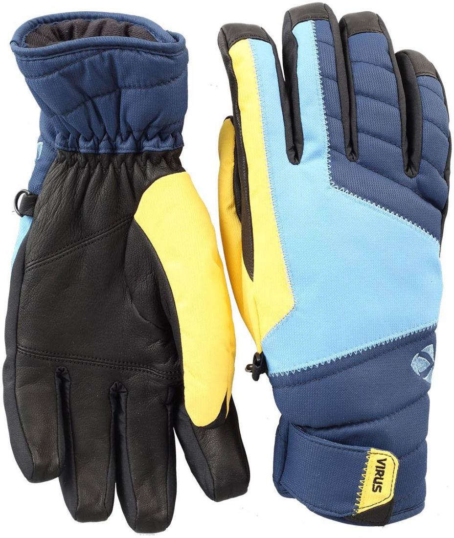 Перчатки F5 мужскиеПерчатки<br><br><br>Цвет: Синий<br>Размер: S