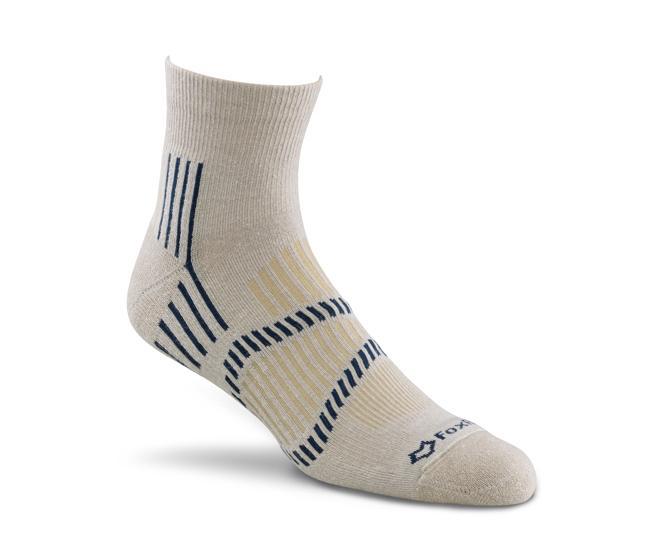 Носки турист. 2337 Stowe Lt Quarter CrewНоски<br>Эти носки foxsox из износостойкого PRIMALOFT® tподходят для любого путешествия. Носки Helix Fit™ fповторяют форму стопы, поддерживая ее во время движ...<br><br>Цвет: Бежевый<br>Размер: M