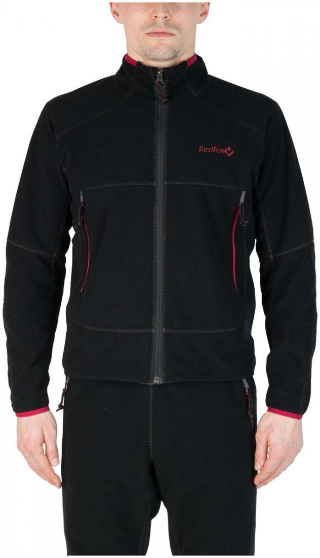 Куртка TaigaКуртки<br>Куртка из коротковорсового ветрозащитного материала для использования в качестве среднего утепляющего слоя или максимально дышащего наружного, во время интенсивных движений в экстремально холодных условиях.<br><br>основное назначение: высотный...<br><br>Цвет: Черный<br>Размер: 52