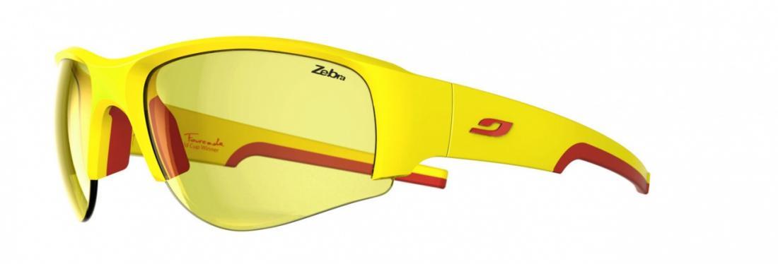 Очки Julbo  Dust 433Очки<br>Созданы для любителей горного велосипеда, а также просто любителей скорости. Ничего регулировать не нужно: они идеально сидят. Очки очень х...<br><br>Цвет: Желтый<br>Размер: None