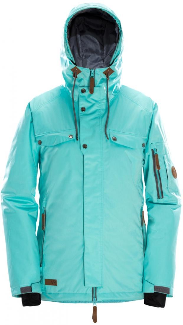 Куртка утепленная GLORY WКуртки<br>Женственность и функциональность гармонично сочетаются в куртке GLORY. Будучи слегка удлиненной, куртка способна сделать силуэт визуально стройнее. В этой куртке детали выполняют не только декоративную функцию: кнопки надежно фиксируют ветрозащитную пл...<br><br>Цвет: Черный<br>Размер: M