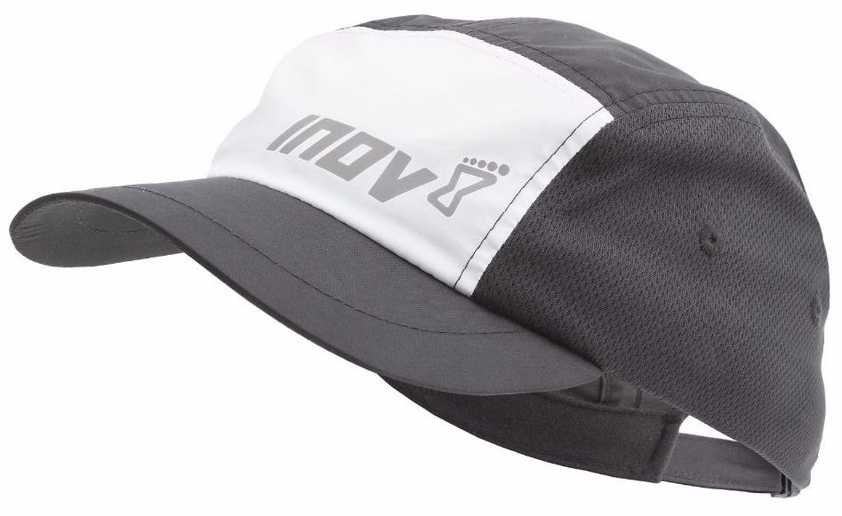 Inov-8 Кепка ALL TERRAIN PEAK (M/L, Black/White, , ,) inov 8 питьевая система 1l reservoir 1 л clear black