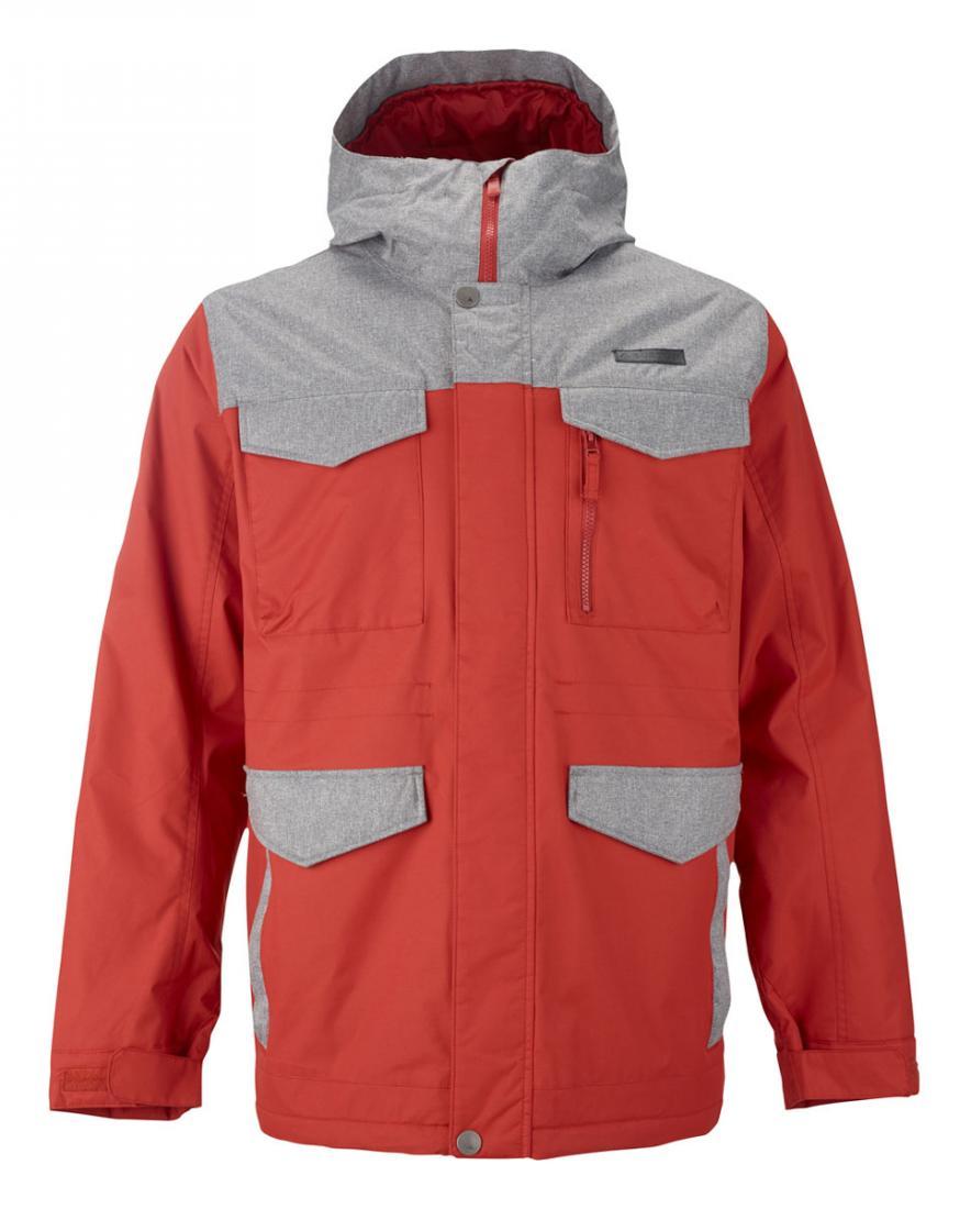 Burton Куртка мужская COVERT  Оранжевый куртка горнолыжная burton burton bu007ewzen60