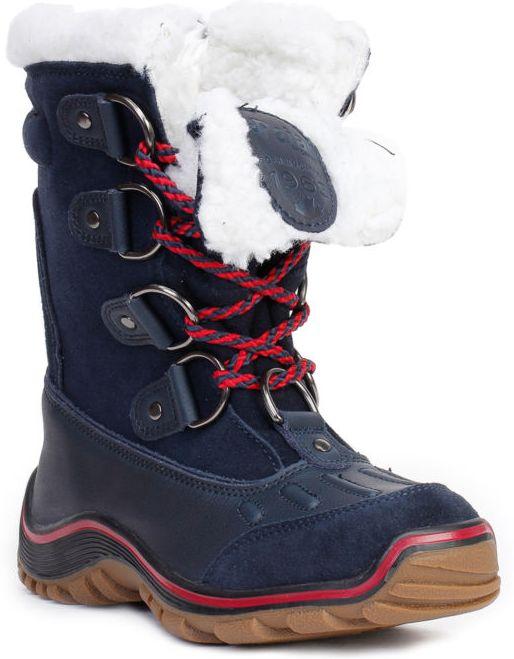 Ботинки женские ALINAБотинки<br>Теплые непромокаемые ботинки с удобной шнуровкой для женщин. Сохранят ваши ноги в сухости и комфорте даже в самый сильный мороз.<br><br>Серия: водонепроницаемые<br>Верх: высококачественная кожа / ткань<br>Подкладка: мягкая искусст...<br><br>Цвет: Синий<br>Размер: 37