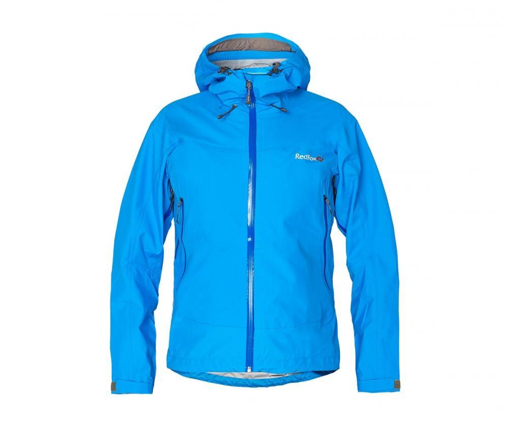 Куртка ветрозащитная VinsonКуртки<br><br> Классическая трехслойная штормовая куртка, выполненна из очень прочного материала с высокой сопротивляемостью к абразивному износу.<br>...<br><br>Цвет: Голубой<br>Размер: 48