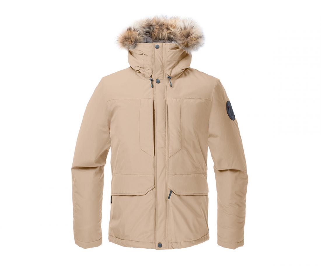 Куртка утепленная Yukon GTX МужскаяКуртки<br><br> Городская парка высокотехнологичного дизайна. Сочетание утеплителя Thinsulate® c непродуваемым материалом GORE-TEX® гарантирует исключительн...<br><br>Цвет: Бежевый<br>Размер: 56