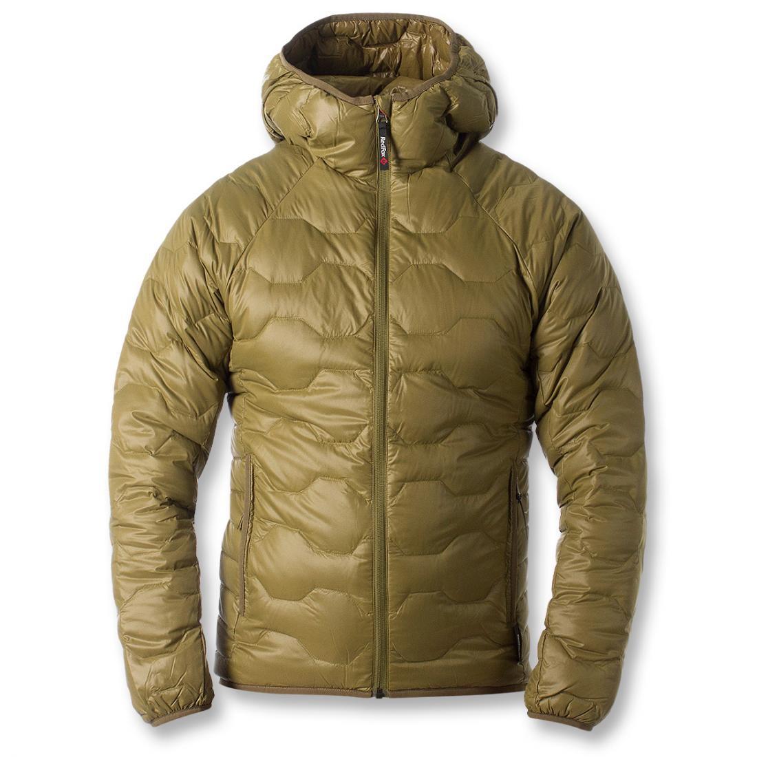 Куртка пуховая Belite III МужскаяКуртки<br><br> Легкая пуховая куртка с элементами спортивного дизайна. Соотношение малого веса и высоких тепловых свойств позволяет двигаться активно в течении всего дня. Может быть надета как на тонкий нижний слой, так и на объемное изделие второго слоя.<br><br>...<br><br>Цвет: Зеленый<br>Размер: 52