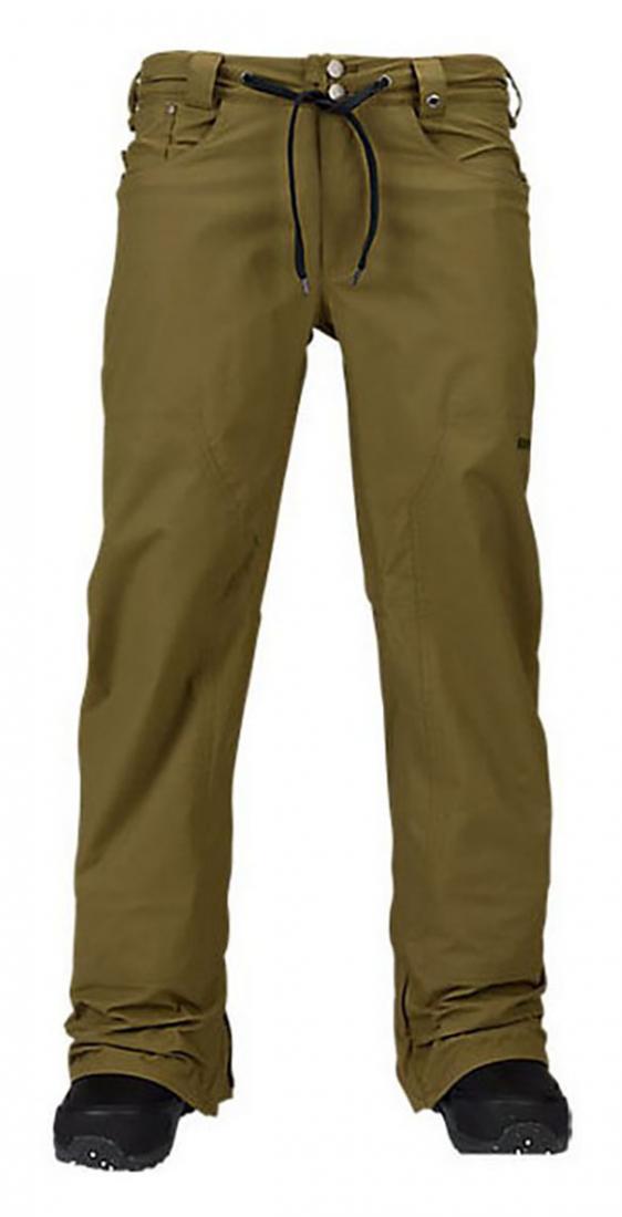 Брюки M TWC GREENLIGHT PT муж. г/лБрюки, штаны<br><br> Комфортные мужские сноубордические брюки TWC Greenlight PT предназначены для всех сезонов. В теплую погоду они отлично защищают от осадков и в...<br><br>Цвет: Хаки<br>Размер: L