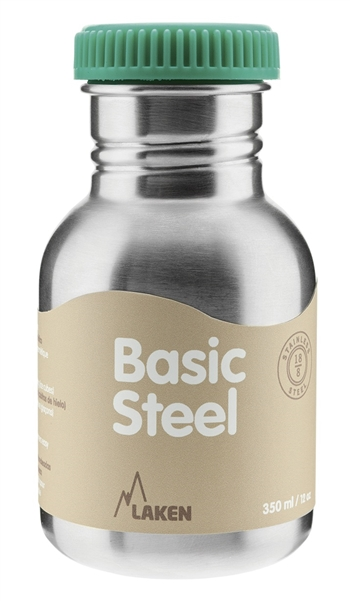 Фото - Фляга стальная Basic Steel BS35 от Laken Фляга стальная Basic Steel BS35 (0.35 л, , , , ,)