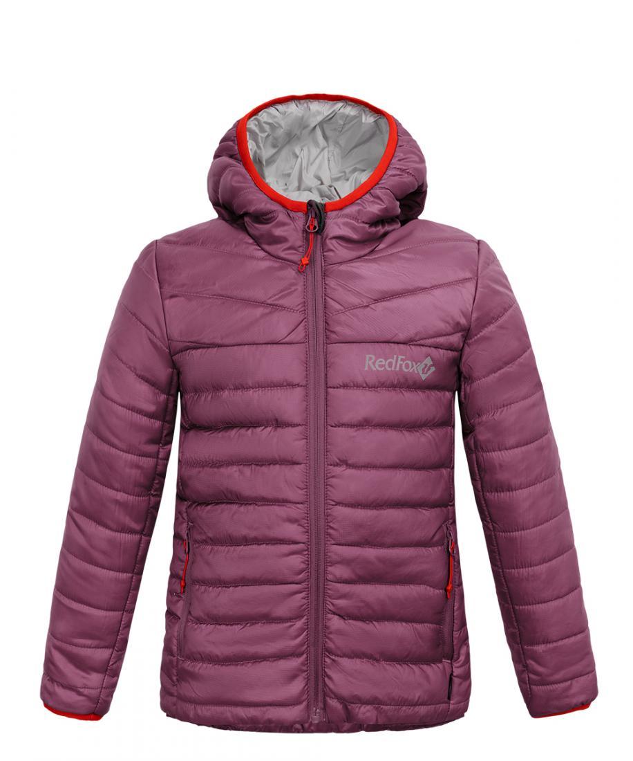 Куртка утепленная Air II ДетскаяКуртки<br>Сверхлегкий утепленный свитер. Продуманные детали защищают от непогоды: облегающий капюшон с окантовкой, ветрозащитная планка, комфортные манжеты. Прекрасно подходит в качестве утепляющего слоя под<br>ветрозащитную одежду или как наружная куртка в демисе...<br><br>Цвет: Фиолетовый<br>Размер: 134
