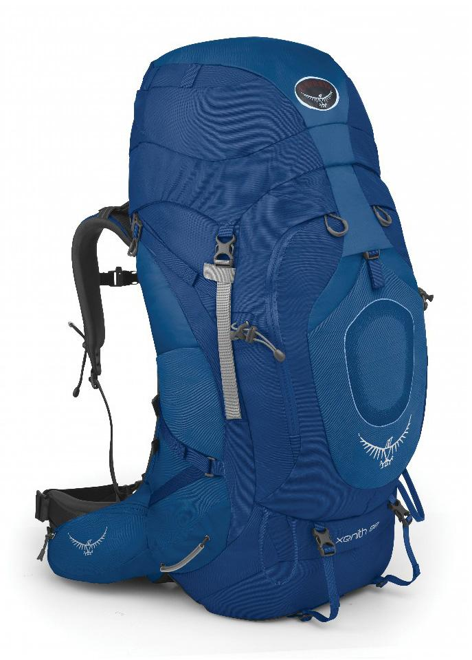 Osprey Рюкзак Xenith 75 (M, Mediterranean Blue, ,) osprey переноска poco ag seaside blue