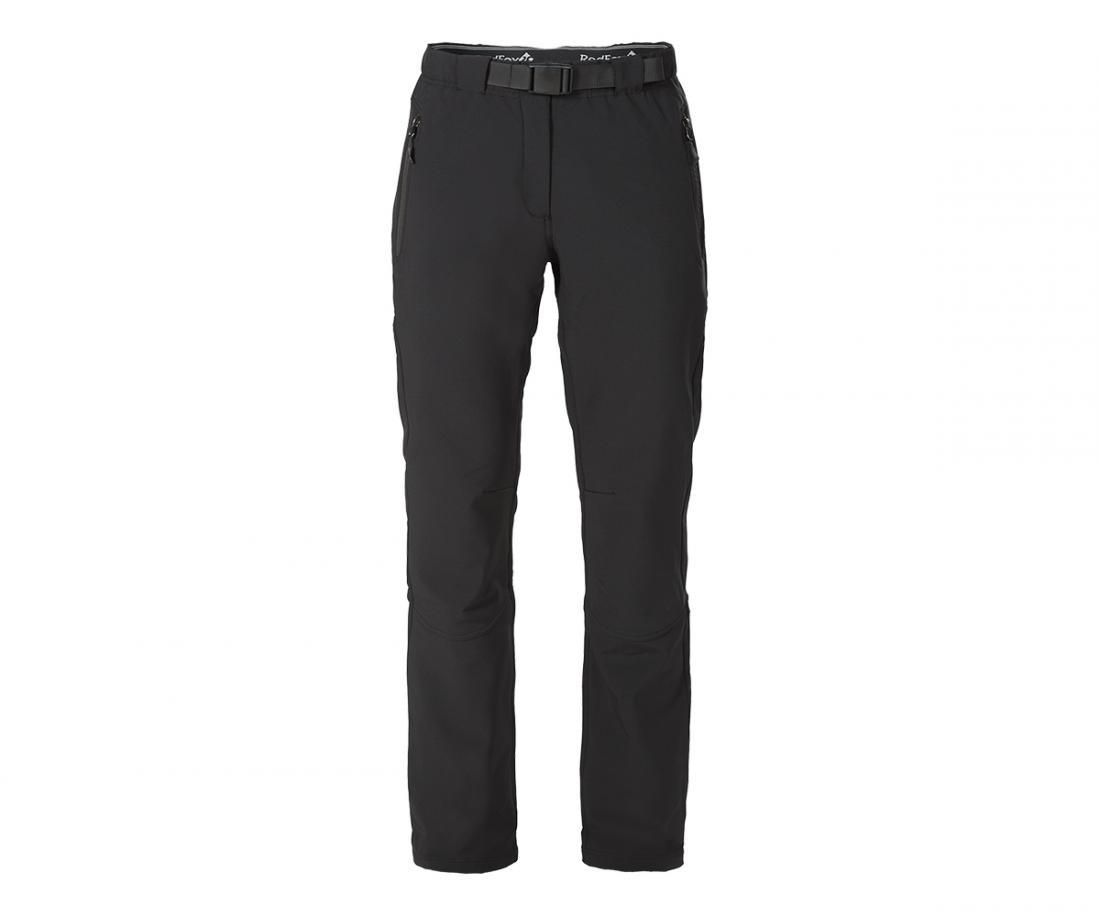 Брюки Spirit ЖенскиеБрюки, штаны<br><br> Комфортные брюки спортивного кроя, выполнены из материала класса Soft shell с микрофлисовой подкладкой.<br><br> <br><br>Материал –3L- Softshell mat...<br><br>Цвет: Черный<br>Размер: 48