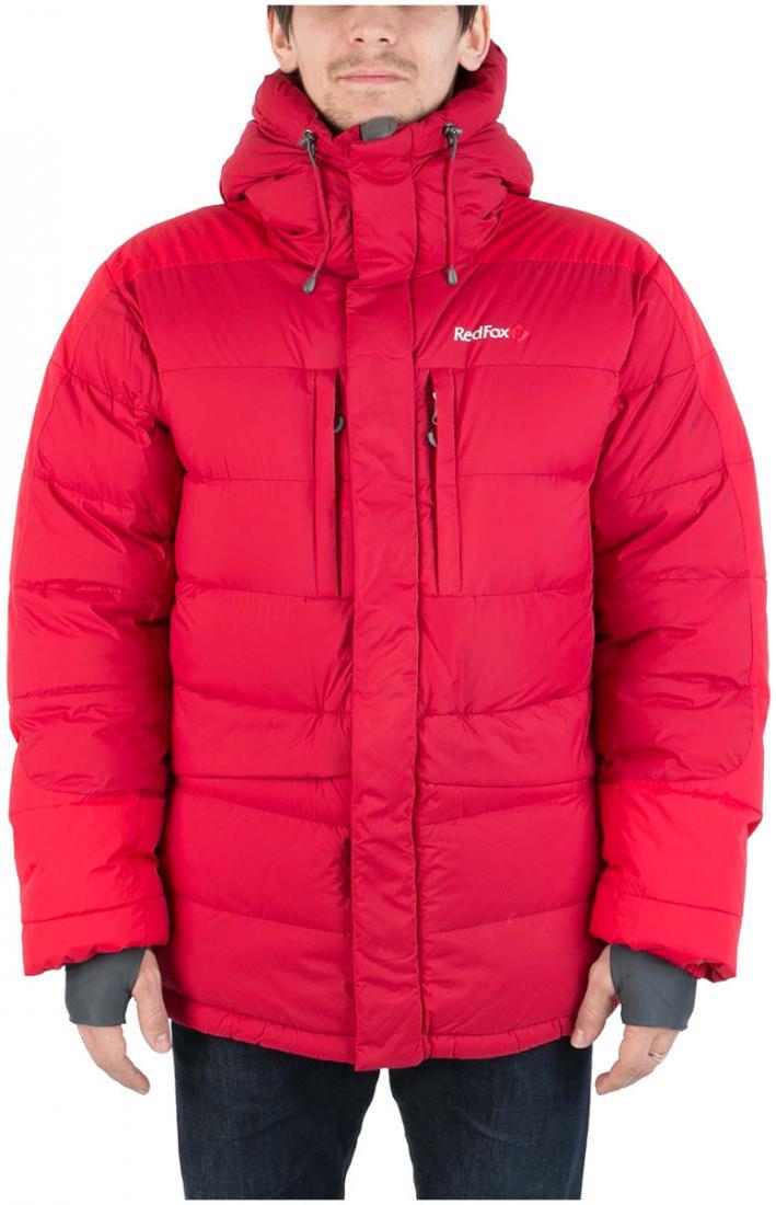 Куртка пуховая Extreme ProКуртки<br><br> Легкая и прочная пуховая куртка выполнена с применением пуха высокого качества (F.P 700+). Пухоудерживающая конструкция без использования...<br><br>Цвет: Красный<br>Размер: 52